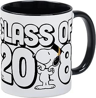 CafePress Snoopy Class Of 2018 Unique Coffee Mug, Coffee Cup