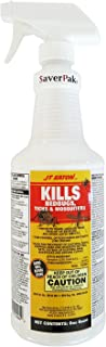 SaverPak Pets - Quart (32oz) JT Eaton Kills Bedbugs, Ticks & Mosquitoes Permethrin Insect Repellent Spray for Dogs, Horses, Livestock, Poultry