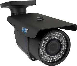GW Security 8 Megapixel 4K (3840x2160) 2.7-13.5mm Varifocal Zoom Outdoor Waterproof Onvif H.265 8MP Bullet PoE IP Camera, 196FT IR Night Vision (Grey)