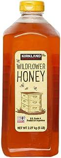 Kirkland Signature Wild Flower Honey, 5 lbs   2 Pack