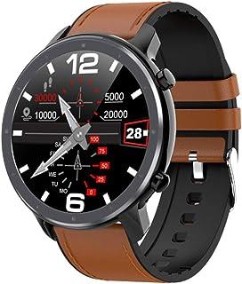 Reloj inteligente para hombre y mujer, monitor de ritmo cardíaco, sueño y presión arterial, seguimiento de calorías quemadas, contador de pasos, compatible con iOS y Android
