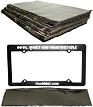 product image for HushMat 10500 Sound Damping Bulk Kit / 30 Black Sheets + 10600 License Plate Kit