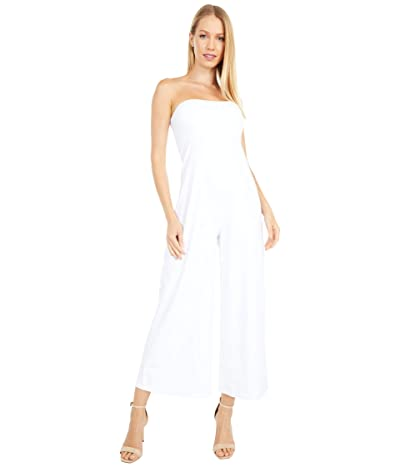 Susana Monaco Strapless Cropped Jumpsuit (Sugar) Women