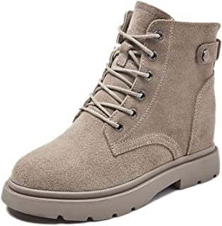 SF Boots and Booties for Women,Martin Boots Summer Boots Wild Autumn Increased Short Boots Autumn Breathable Spring and Autumn Single Boots
