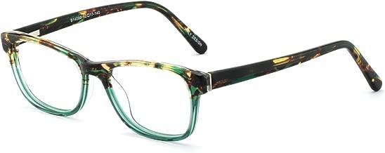 OCCI CHIARI Women Blue Light Blocking Eyeglasses Fashion Computer Rectangular Eyewear Frame