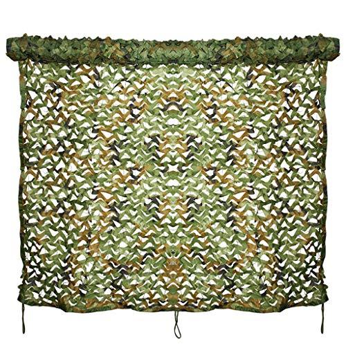 QIANMEI Velas de Sombra Toldos para Patio Camping Sombrilla de Sombra de la Sombra | Red de Camuflaje de la Selva al Aire Libre | para la Caza de la Caza del acampado de sombrillas (Size : 6X8M)