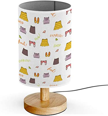 PIXELS FACE DRUM LAMPSHADE /& TOUCH LAMP SET KIDS FREE P+P and FREE GIFT