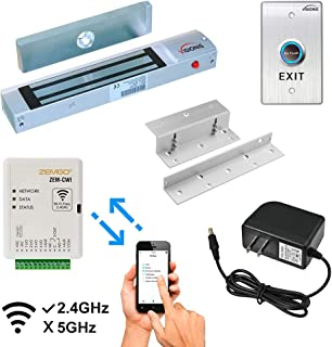 Zemgo FPC-8423 Smart Mobile WiFi Controller for Access Control with Android + Apple App, Web Browser + Smartphone Remote V...