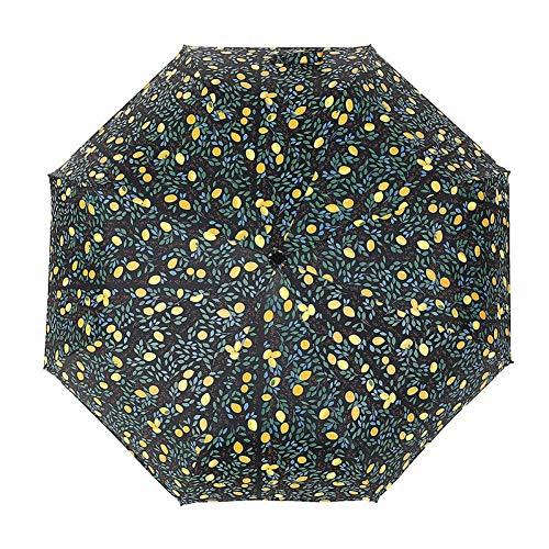 EFKKLM Creative Lemon Anti-UV Ombrello Ombrello Pieghevole in Lega di Alluminio Ombrello Pieghevole Ombrello Pioggia Donna