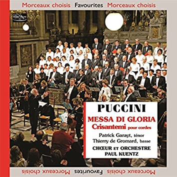 Puccini: Messa di Gloria & Crisantemi