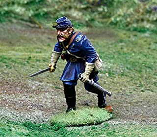 Collectors Showcase CS00845 Battle of Gettysburg Figure Collectors 2nd Wisconsin Iron Brigade Infantry Officer Soldiers Civil War Toy
