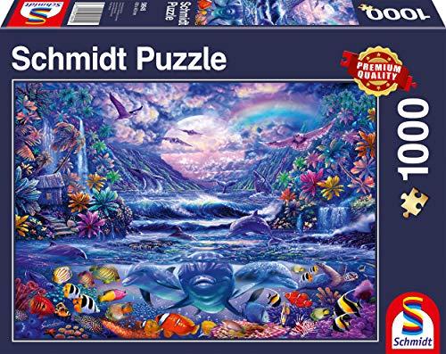 Schmidt 58945 Moonlit Oasis Jigsaw Puzzle (1000pc)