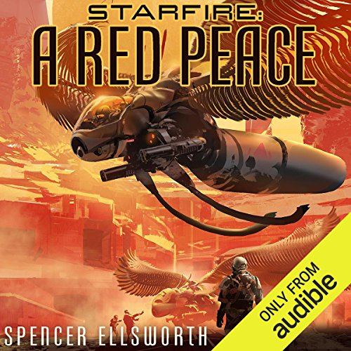 A Red Peace audiobook cover art