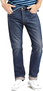 Levi's Men's 501 Original Fit Regular Design Comfortable Denim Jeans