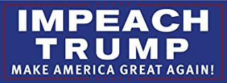 Drumpf.WTF Impeach Trump Make America Great Again Magnetic Anti-Trump, Pro-Democracy Bumper Sticker - coolthings.us