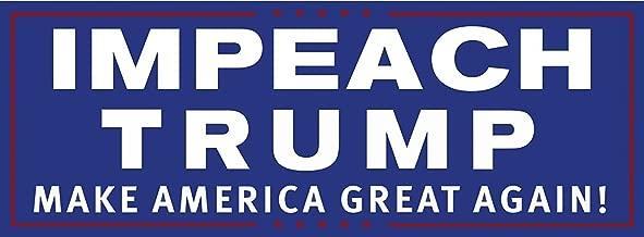 Drumpf.WTF Impeach Trump Make America Great Again Magnetic Anti-Trump, Pro-Democracy Bumper Sticker