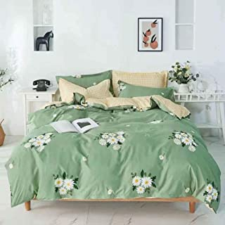 Kingsize Bedsheet 6pcs One Set High Cotton Quality Bedding Set Duvet Cover (13)
