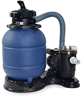 legendary-Yes Pro 2400GPH 13 Inch Sand Filter w/ 3/4HP Water Pump Above Ground Swimming Pool Pump