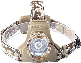 Koplamp zaklamp, waterbestendigheid, verstelbaar voor en volwassenen, perfecte hoofdlamp voor hardlopen, wandelen, lezen, ...