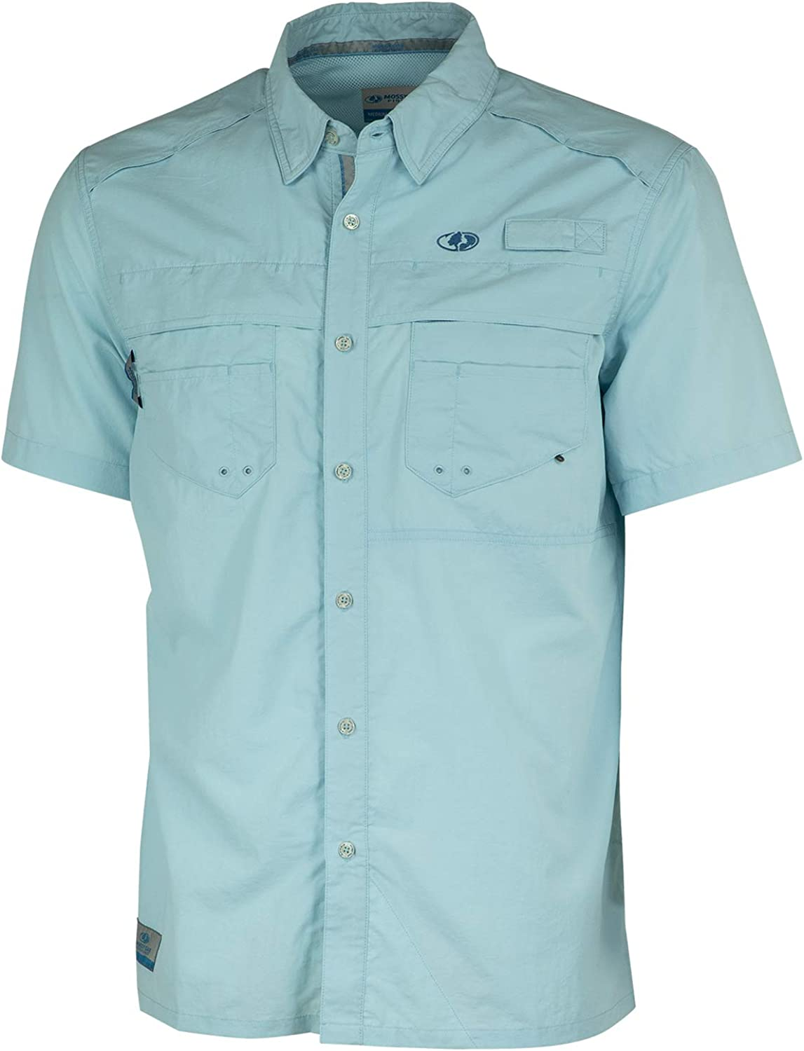 Mossy Award Oak Las Vegas Mall Fishing Shirts for Men Dry Sun with Quick Protect UPF