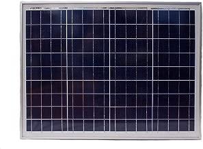 50 Watt Polycrystalline Solar Panel - Mighty Max Battery brand product