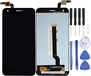 WXX LCD Screen and Digitizer Full Assembly for Vodafone Smart Ultra 6 / VF995(Black) (Color : Black)