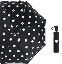 Paraguas Paraguas Manual de Dibujos Animados Paraguas Travieso Paraguas Plegable Paraguas de plástico Negro Tres Paraguas Plegable Paraguas de Sol Sombrilla
