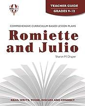 Romiette and Julio - Teacher Guide by Novel Units