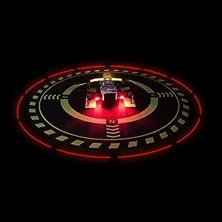 Drones Landing Pad with LED Light for DJI MAVIC/SPARK/Phantom 3/Phantom 4PRO/PRO(Diameter70cm/27.6inch)