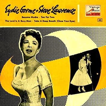 """Vintage Vocal Jazz / Swing Nº 33 - EPs Collectors """"Bésame Mucho, Tea For Two"""""""