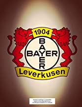 Bayer 04 Leverkusen Notebook: Graph Paper: 4x4 Quad Rule, Student Exercise Book Math Science Grid 200 pages (Football Soccer Notebook)