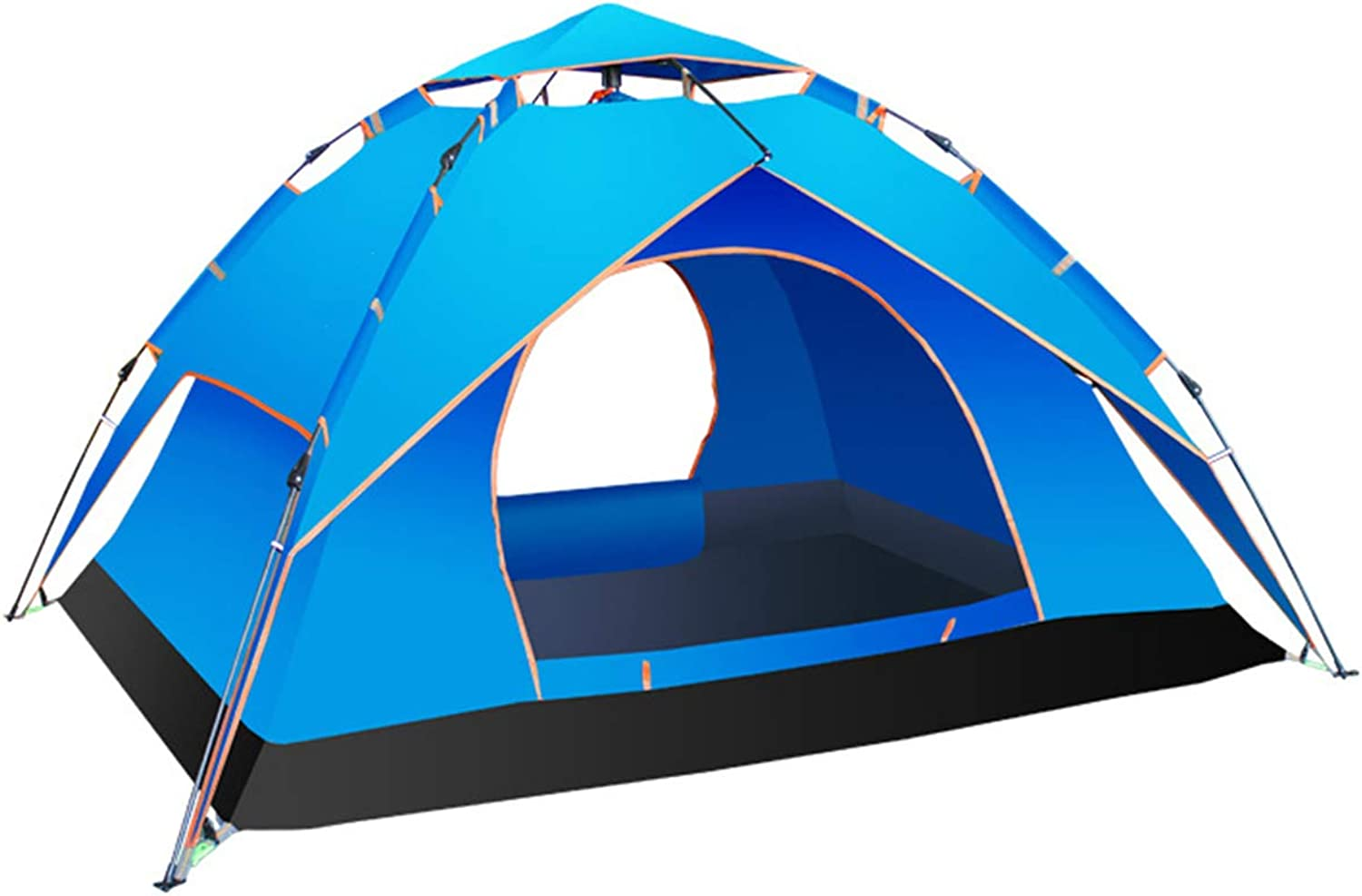 Outdoor Tent Double Layer Detachable Camping Double Camping Tent Easy to Setup and Foldable240210  135Cm