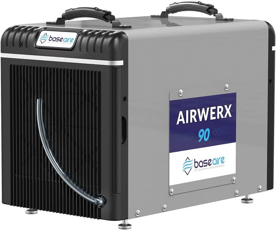 BaseAire Crawl Spaces Dehumidifier Basement AirWerx90 Max 59% 67% OFF of fixed price OFF Dehumidif