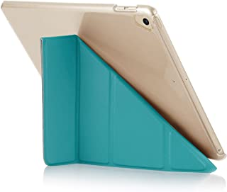 "Pipetto Origami iPad Case 9.7"" (2017/2018) 6th Generation & Air 1 with 5 in 1 Stand in Vegan Leather & auto Sleep/Wake Fun..."