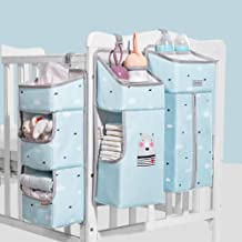 Anzirose Sacchetto Appeso Organizzatore Conservazione Borsa per Pannolini Salviette Babys bagno Giocattoli Abiti tissue bottiglia