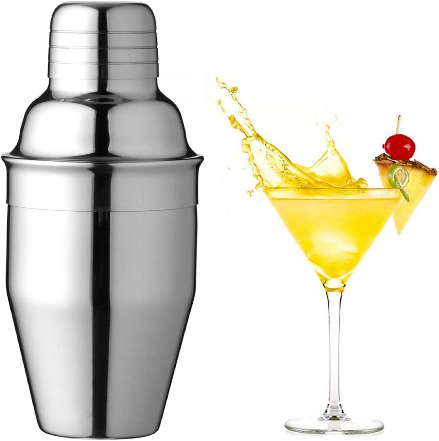 Cocktail Shaker Martini 8.4 Food Spring new work Drink 250ml Year-end annual account Oz