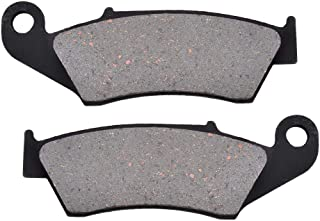 KYN for Honda HM Italy CRE 450 F Supermoto 2002 2003 Motorcycle Front Rear Brake Pads Organic Disc CRE450 CRE450F (Front)