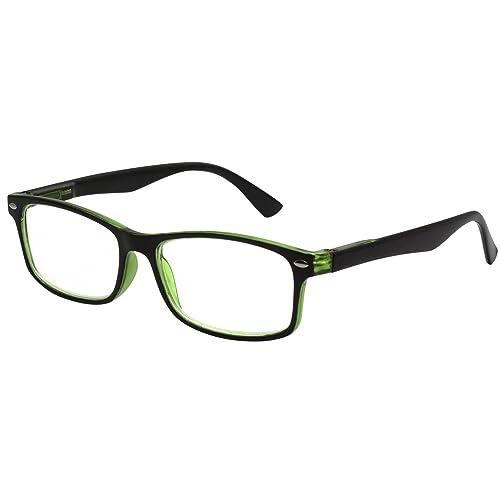 1ab797f697 TBOC Gafas de Lectura Presbicia Vista Cansada – Graduadas +3.50 Dioptrías  Montura de Pasta Bicolor