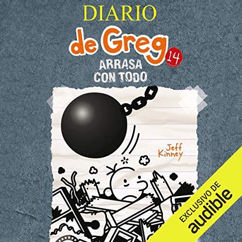 Diseño de la portada del título Diario de Greg 14