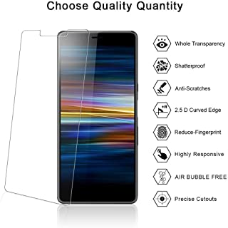 RKVMM skärmskydd för Sony Xperia L3 [3D touch] [HD ultra klar] [fodralvänlig] härdat glas skärmskydd kompatibelt med Sony ...