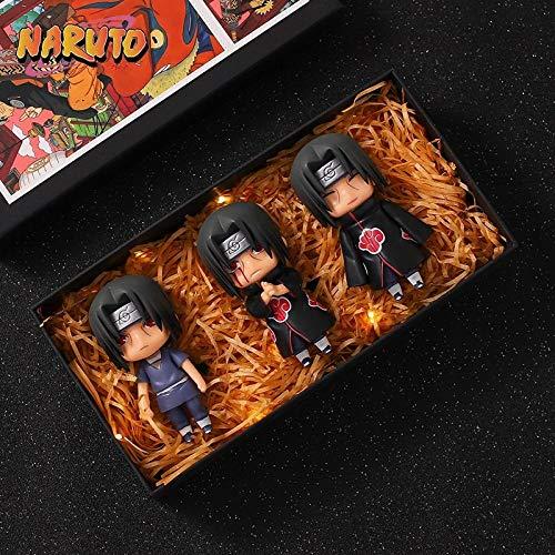 N / A Auténtico Granel Naruto Wind Pass Youth Flag De Madera Casey Parker Psíquico Ninja Dog Hecho A Mano-hy-210-q Versión 3 Itachi [OPP Bag + Base Propia Colección]. Amigo Regalo Regalo Modelo