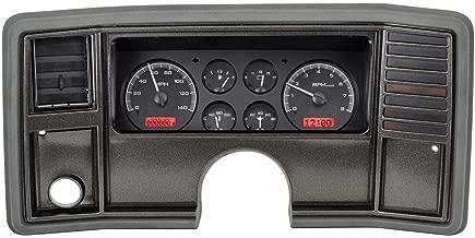 Dakota Digital 78 -88 Chevy Monte Carlo Analog Dash Gauge System Black Alloy Red VHX-78C-MC-K-R