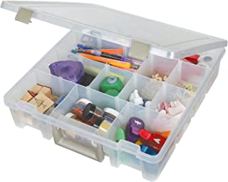 ArtBin Super Satchel with Removable Dividers Portable Art & Craft Organizer with..