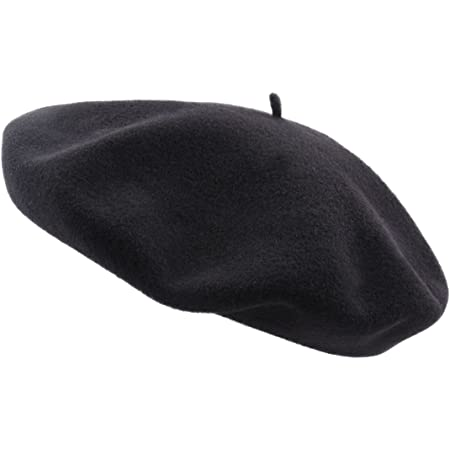Laulh/ère Beret Basque Heritage Made in France Homme//Mens Gris Anthracite-Anthracite Taille M 57-58