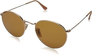 RB3447 Evolve Round Metal Sunglasses, Gold/Brown Photochromic, 53 mm