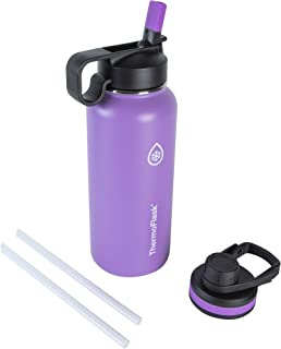 Thermoflask 50074 Double Stainless Steel Insulated Water Bottle, 32 oz, Plum