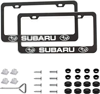license plate screw size subaru