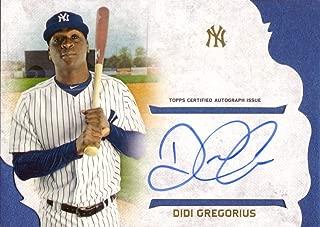 2015 Topps Supreme #SSA-DG Didi Gregorius Certified Autograph Baseball Card