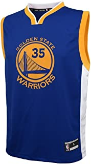 Kevin Durant Golden State Warriors NBA Youth Blue Road Replica Jersey (Youth Large 14-16)