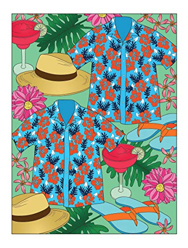 Creative Haven Truly Tropical Coloring Book (Adult Coloring)